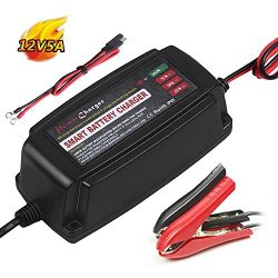 Yishen Battery Charger 12V 5A Maintainer 4-Stage For e-bike,motorcycle,electric vehicle electric ...