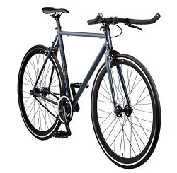 Big Shot Bikes City Commuter Bike – Kyoto SIZE. Single Speed and Fixed Gear. Front and Rea ...