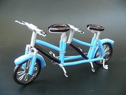 Unique Metal Crafts Gift Art Road Tandem LOVE Bike Model Wedding Christmas Tree Ornaments Decora ...