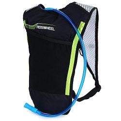 Roswheel 5L Bike Hydration Backpack Ultralight with 2L Water Bladder Reservoir