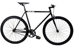 Golden Cycles Fixed Gear Single Speed Fixie Road Bike (Vader, 59)