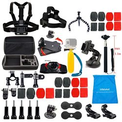 Lifelimit Accessories Starter Kit for Gopro Hero 6/fusion/5/Session/4/3/2/HD/HERO+ (Wi-Fi Enable ...