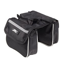 Cycling Mountain Road Bicycle Bike Frame Saddle Bag Pannier Front Tube Bags Double Sides for Out ...