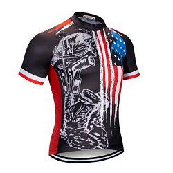 NASHRIO Men's Cycling Jersey Short Sleeve Road Bike Biking Shirt Tops Bicycle Clothes &#82 ...