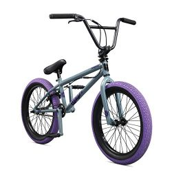Mongoose Legion L40 20″ Freestyle BMX Bike, Grey