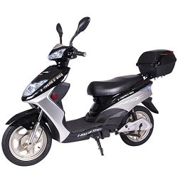 X-Treme XB-504 Electric Powered Bicycle Scooter (Black)
