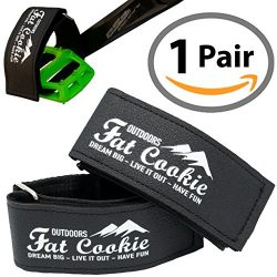 Fat Cookie Outdoors Pedal Straps Fixie Bike Pedal Straps – Strong Synthetic Leather – ...
