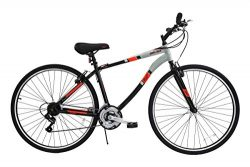 700C Columbia Mens Cross Train Fitness Bike – Gray / Orange !