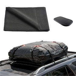 ONEST Car Roof Cargo Carrier Protective Mat, Non-slip Roof Rack Pad Work with Roof Rack Crossbar ...