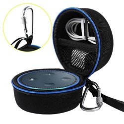 Travel Portable Carrying Protective Hard Case Box Pouch for Amazon All-New Echo Dot(2nd Generati ...