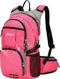 Insulated Hydration Backpack with 2L Water Bladder – Lightweight pack for Running Hiking R ...