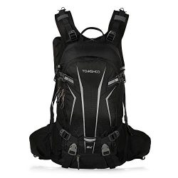 TOMSHOO Lightweight Water Resistant Bicycle Bike Cycling Travel Camping Hiking Backpack Daypack  ...