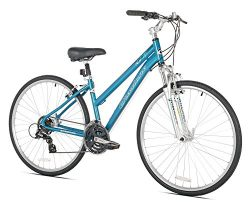 Giordano G7 Women's Hybrid Bike, One Size/17″
