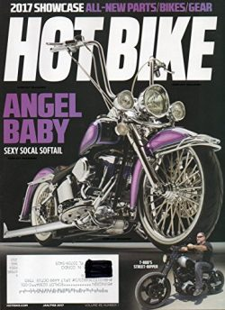 Hot Bike Magazine Vol 49 No 1 SHOWCASE: ALL-NEW PARTS/BIKES/GEAR Angel Baby: Sexy Social Softail ...