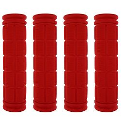 Kasteco 2 Pairs Bicycle Handle Bar Grips Mushroom Grips For BMX/Road Mountain/Boys and Girls Kid ...