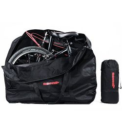 Folding Bike Bag Bicycle Travel Carry Bag 16 to 20 inches Bike Storage Bag Outdoors Transport Ca ...