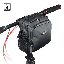 Rhinowalk Bike bag Bike Handlebar Bag Waterproof road bike saddle bag bike frame bag bike basket ...