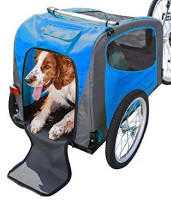 Schwinn Rascal Pet Trailer, Blue Grey