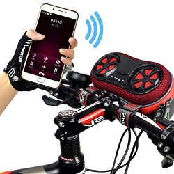 Wildman Multi-Function Bicycle Speaker With External Audio Controls – Portable Travel Spea ...