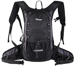 Dtown Running Hiking Cycling Water Pack Hydration Backpack Insulated with 2L EVA Reservoir Bag