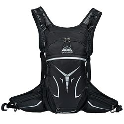 Skysper Cycling Backpack 15L Bike Daypack Ultralight Breathable Hydration Backpack Riding Rucksa ...