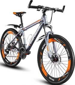 OMAAI 26″ Hardtail Mountain Bike Bicycle 26 Speed Alloy Wheel Derailleur & Suspension  ...