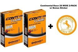 Continental Race 28″ 700×25-32c Bicycle Inner Tubes – 42mm Long Presta Valve &# ...