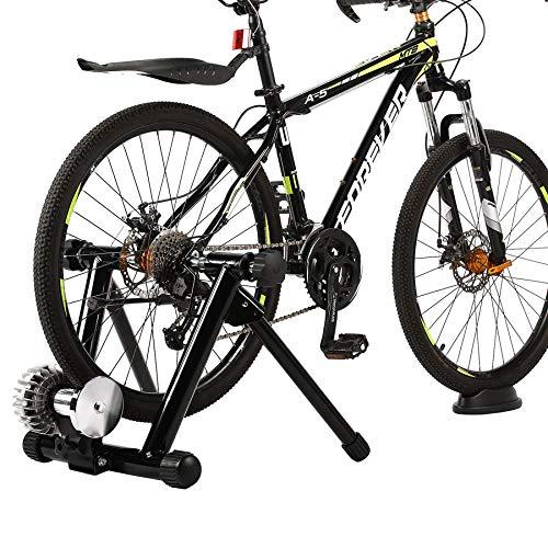 Z ZELUS Quiet Fluid Bike Trainer Stand