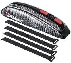 TriSeven Carbon Aero Bag 10Cycling Frame BagLong Distance Triathlon BagMTB Bag0,4L CapacityTop T ...