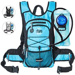 Atlapa Sports lightweight Hydration Backpack-2L TPU Leak Proof Water Bladder-Insulated Pocket Ke ...