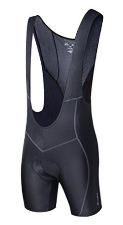 Przewalski Men's 3D Padded Cycling Bike Bib Shorts, Excellent Performance and Better Fit (Waist  ...