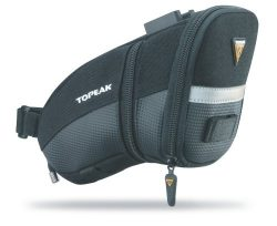Topeak Aero Wedge Pack, w/Fixer F25, Medium