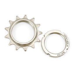 Fouriers 3/32″ 1/8″ Cog Fixie Fixed Gear Track Single Speed Bike Sprocket Lock 3mm 18T