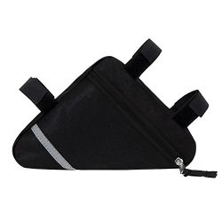 FULARR Bike Triangle Bag, Bicycle Front Tube Frame Bag, Bike Bag Waterproof Tool Bag. Double-Sid ...