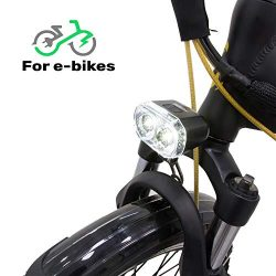GGSN Blaze-Light Headlight for Ebike Electronic Bicycle and Scooters 2 Led