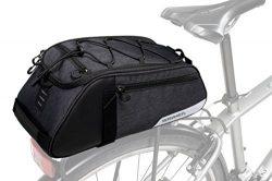 Roswheel Essentials Series 141466 Bike Trunk Bag Bicycle Rear Rack Pack Cycling Accessories Pann ...