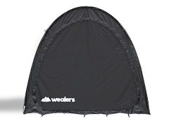 Portable Weatherproof Pop Up Bike Storage Tent with Travel Tote Bag| Instant Polyester Bicycle T ...