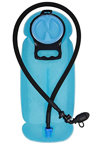 MARCHWAY 2L/2.5L/3L TPU Hydration Bladder, Tasteless BPA Free Water Reservoir Bag with Insulated ...