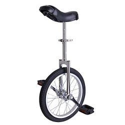 Shinning Chrome 16 Inch In Mountain Bike Wheel Frame 16″ Rim Unicycle Cycling Bike With Co ...