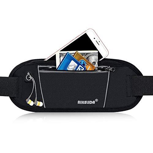 AIKELIDA Running Belt / Fanny Pack / Fitness Belt / Waist Pack for iPhone, Samsung Edge / Note / ...