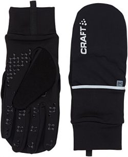 Craft Sportswear Hybrid Weather 2-in-1 Bike Cycling Mitten Glove: protective/riding/cooling/acce ...