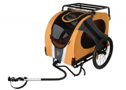 DoggyRide Novel10 Anniversary Bike Trailer for Pets