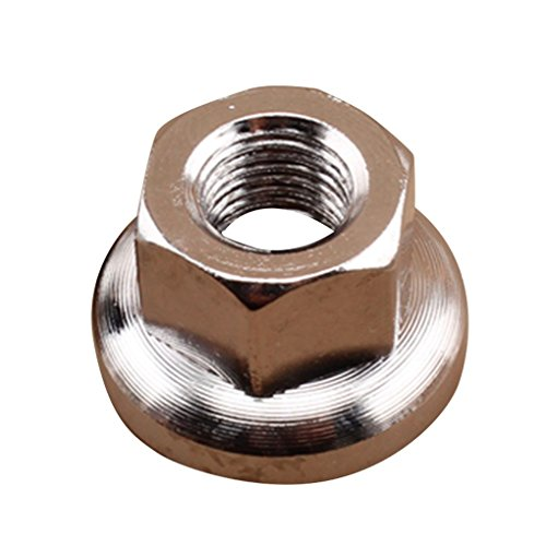 Mountain Road Bike Rear Axle Screws Steel Hubs Drum Nut Fixed Gear M9 M10 DIY Modified Accessory ...