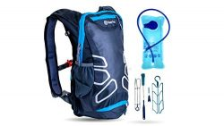 NeezToz Hydration Pack Backpack with 2L Hydration Bladder and Free Cleaning Kit Set (4 Pcs) for  ...
