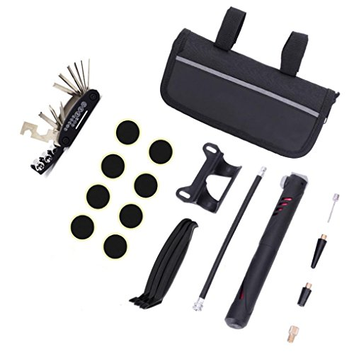 Pausseo A Set Bicycle Repair Tools Precision Bicycle Cleaning Brush Tool suitable for Mountain,  ...