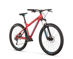 Raleigh Bikes Tokul 2 Mountain Bike, Red, 17″/Medium
