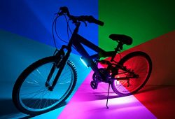 Brightz Go LED Bicycle Accessory Light, Color Morphing