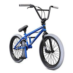 Mongoose Legion L40 20″ Freestyle BMX Bike, Blue