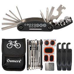 Oumers Bike Chain Tool + Chain Checker, 2-in-1 Universal Bicycle Chain Repair Tool/Bike Chain Sp ...