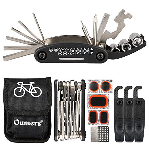 Oumers Bike Chain Tool + Chain Checker, 2-in-1 Universal Bicycle Chain Repair Tool/Bike Chain Sp ...